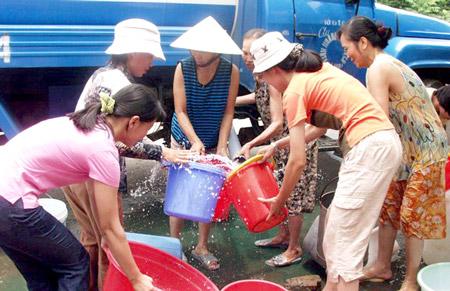 Bán nước sạch sinh hoạt tại quận Tây Hồ
