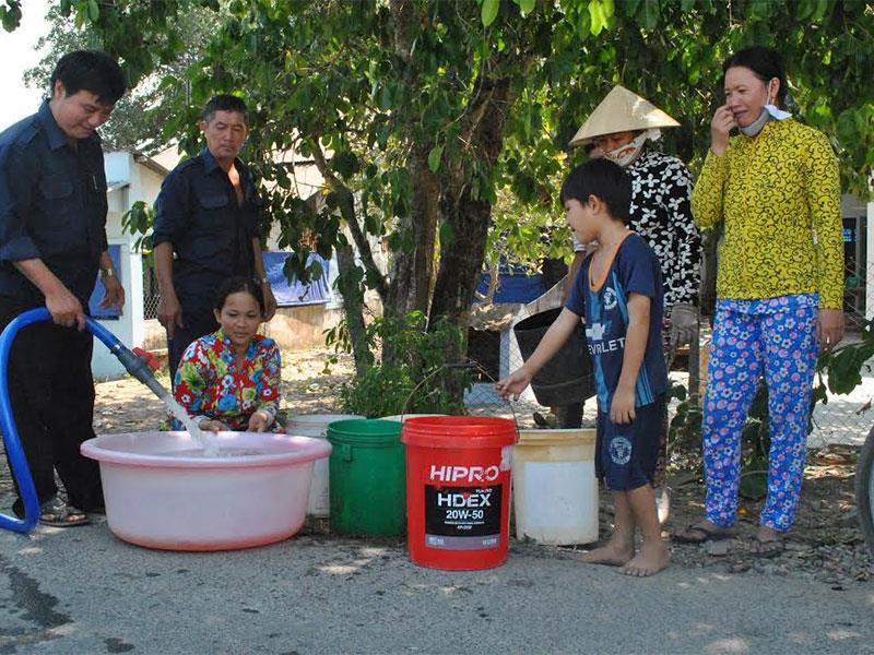 Bán nước sạch sinh hoạt tại quận Ba Đình