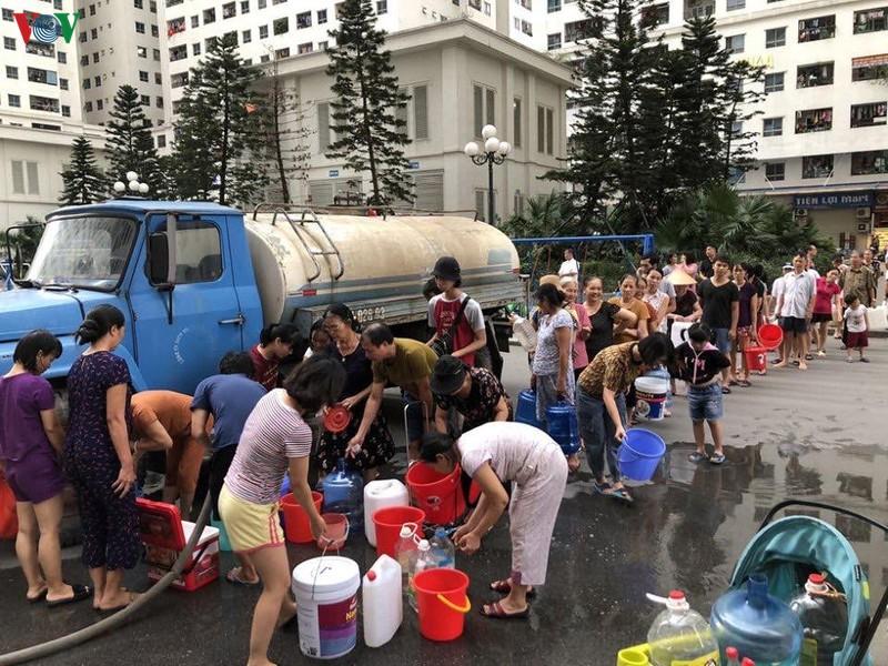 Bán nước sạch sinh hoạt tại quận Long Biên