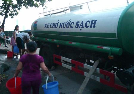 Bán nước sạch sinh hoạt tại quận Hai Bà Trưng
