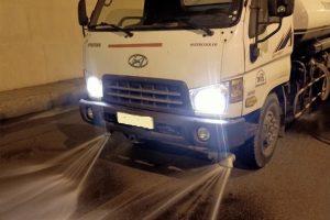 Cho thuê xe tưới rửa đường